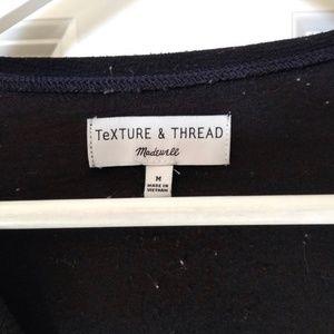 Madewell Tops - Madewell Texture & Thread Sash-Tie Wrap Top
